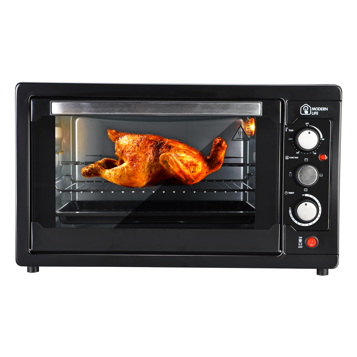 Table Top Ovens Electric ~ L electric mini oven rotisserie tray table top cooker