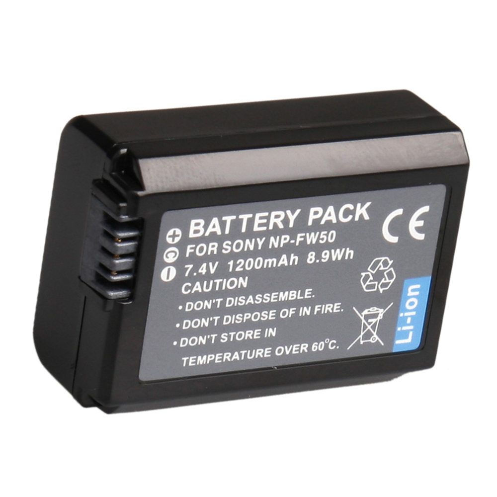 Np Fw50 Battery For Sony A5000 A6000 A7 A5100 A7r A7s Aqx1 A7sm2 Wasabi Power Features