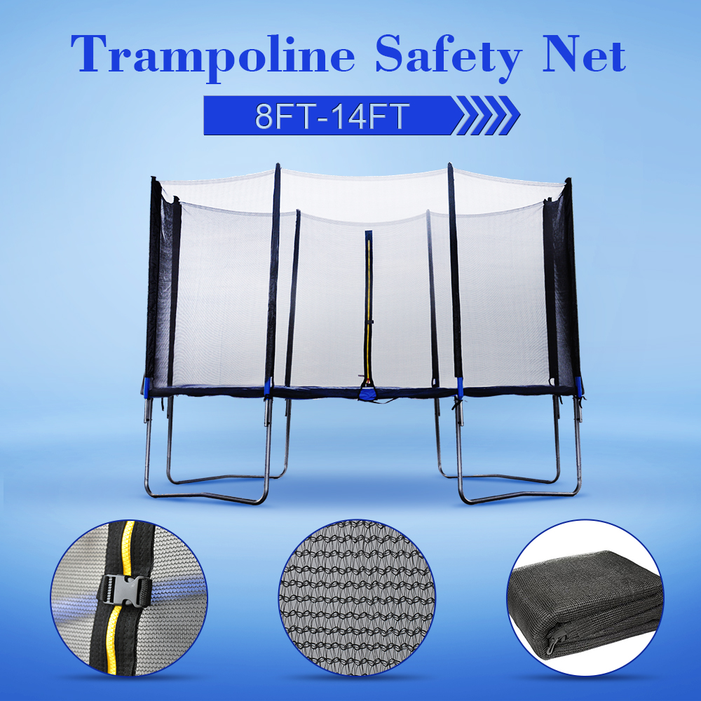 8 10 12 13 14 FT Trampoline Safety Net Replacement