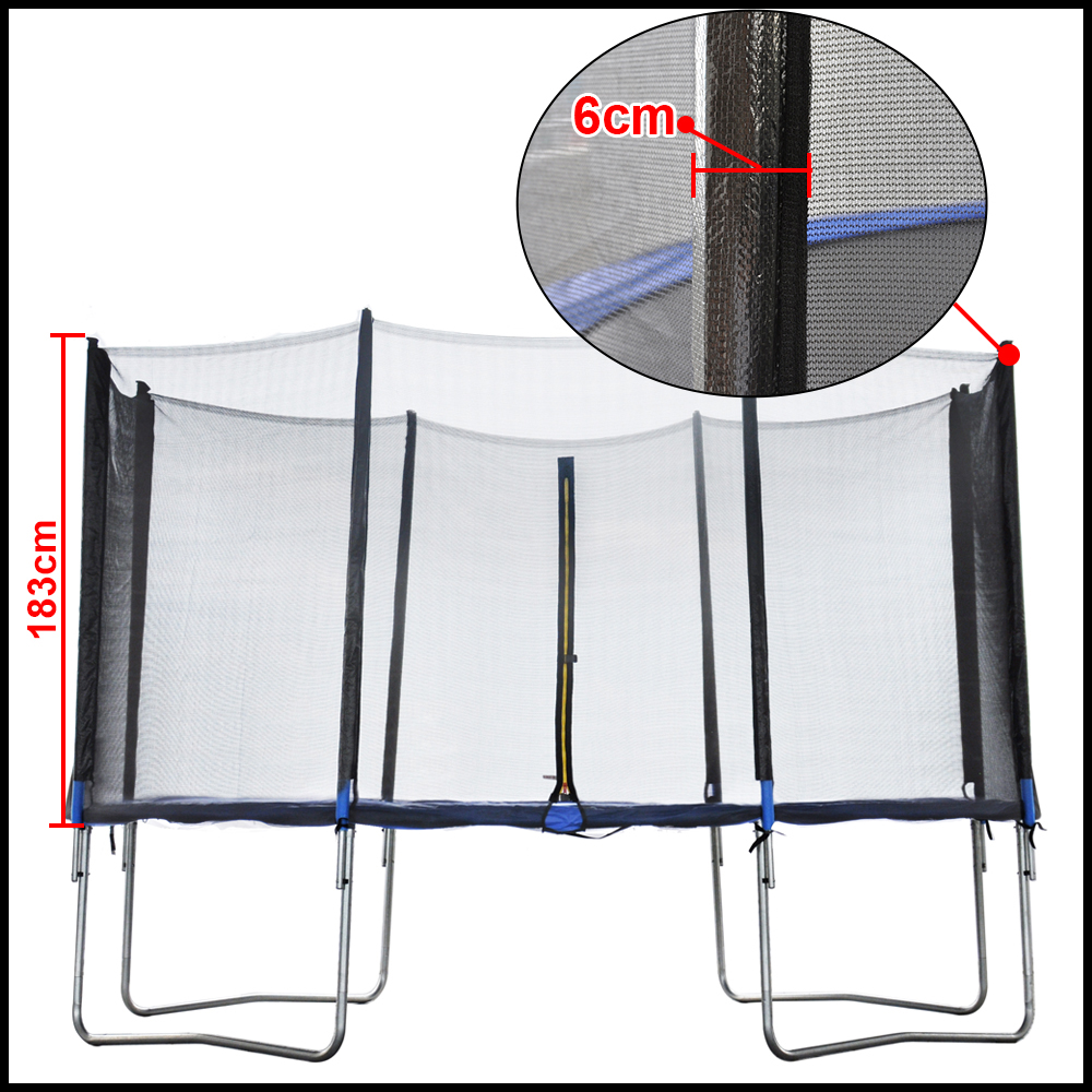 Replacement Trampoline Safety Net Enclosure Surround 8 10